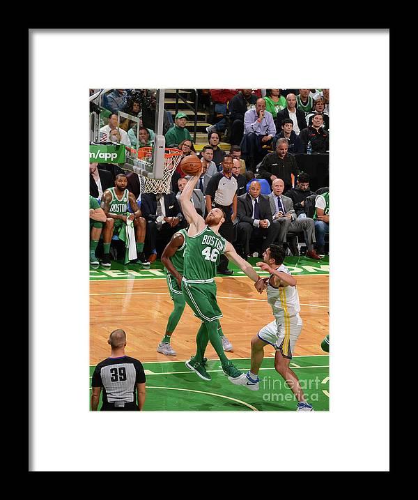 Nba Pro Basketball Framed Print featuring the photograph Aron Baynes by Jesse D. Garrabrant