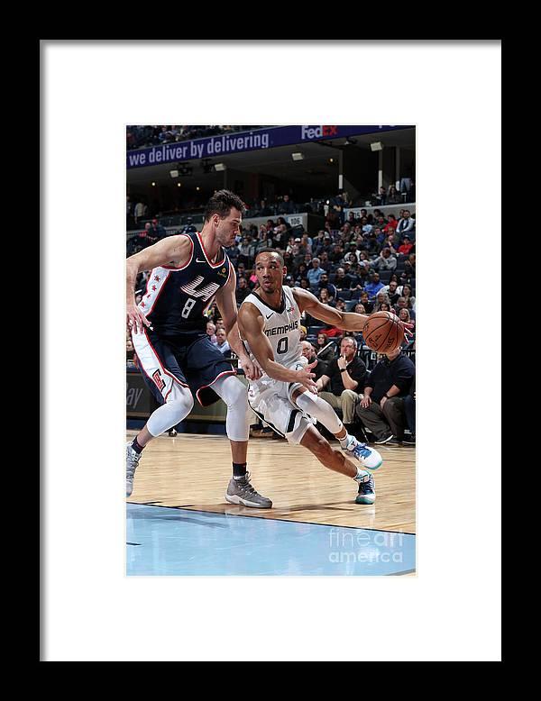 Nba Pro Basketball Framed Print featuring the photograph Avery Bradley by Joe Murphy