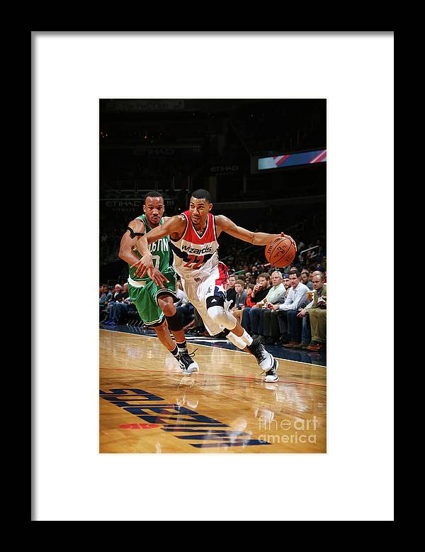 Nba Pro Basketball Framed Print featuring the photograph Avery Bradley by Ned Dishman