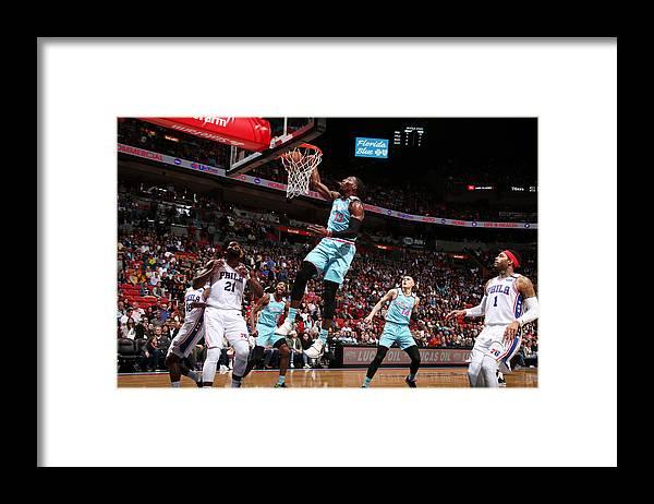 Nba Pro Basketball Framed Print featuring the photograph Bam Adebayo by Issac Baldizon