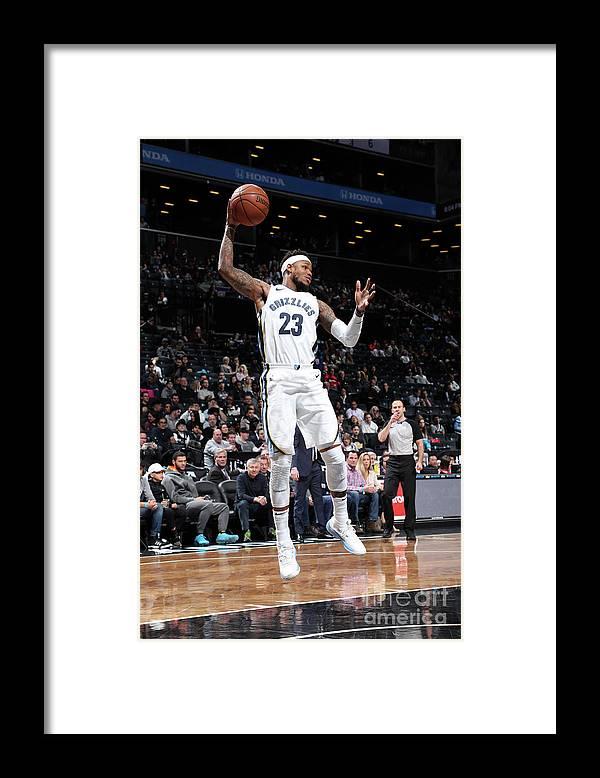 Nba Pro Basketball Framed Print featuring the photograph Ben Mclemore by Joe Murphy