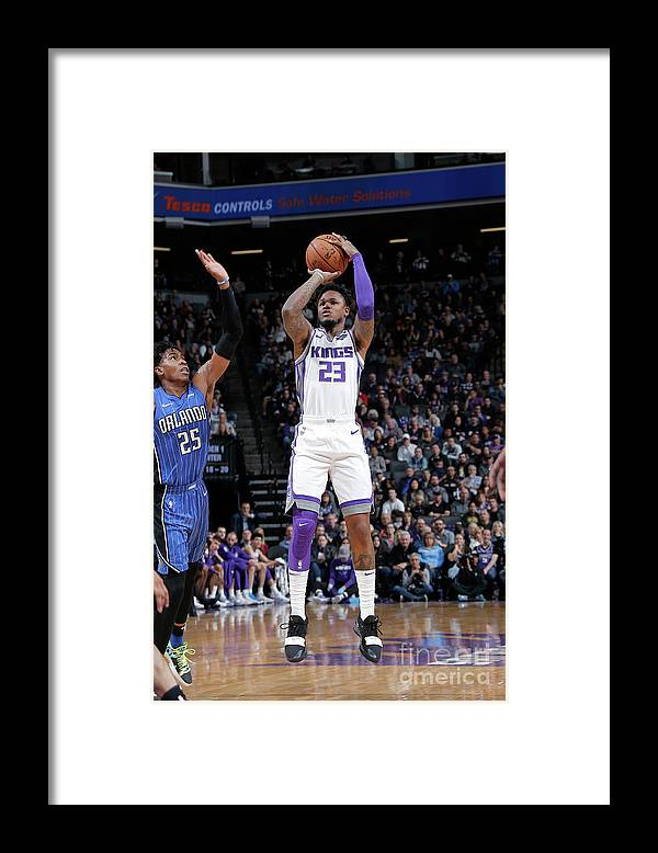 Nba Pro Basketball Framed Print featuring the photograph Ben Mclemore by Rocky Widner