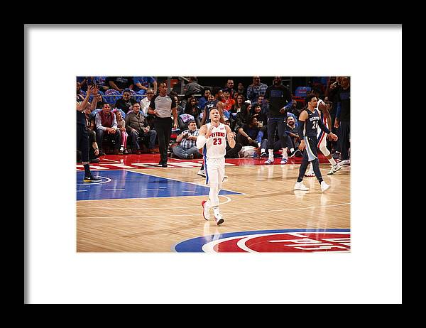 Nba Pro Basketball Framed Print featuring the photograph Blake Griffin by Brian Sevald
