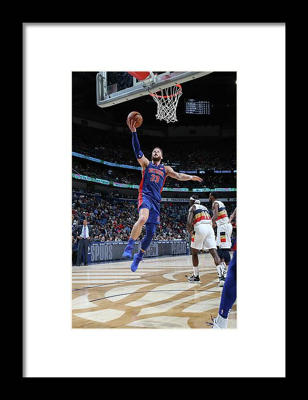 Smoothie King Center Framed Print featuring the photograph Blake Griffin by Layne Murdoch Jr.