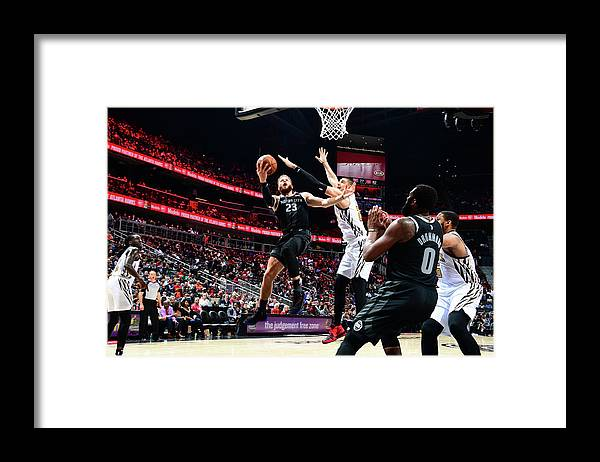 Atlanta Framed Print featuring the photograph Blake Griffin by Scott Cunningham