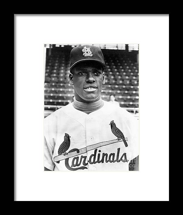 St. Louis Cardinals Framed Print featuring the photograph Bob Gibson by National Baseball Hall Of Fame Library