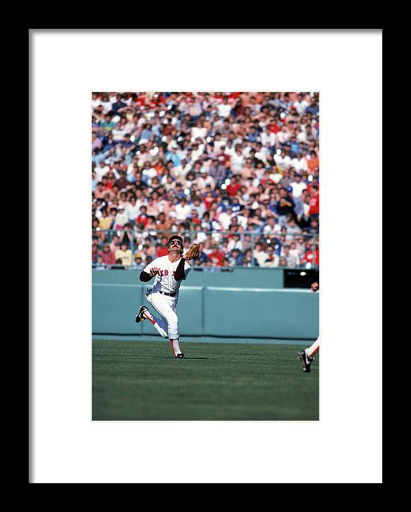 American League Baseball Framed Print featuring the photograph Boston Red Sox by Rich Pilling
