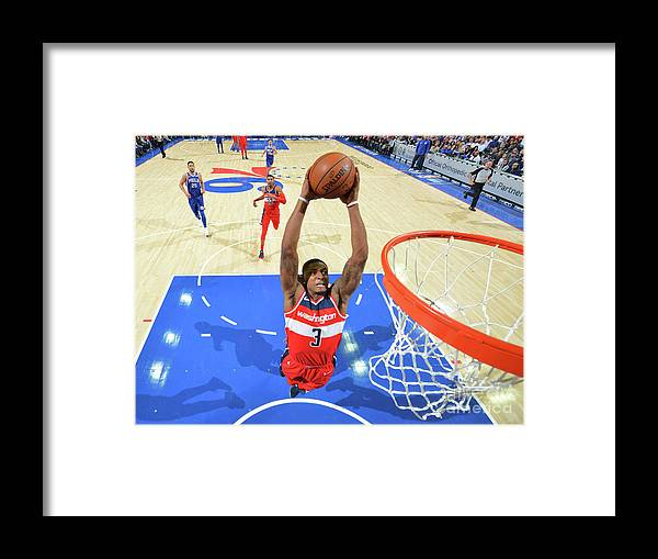 Nba Pro Basketball Framed Print featuring the photograph Bradley Beal by Jesse D. Garrabrant