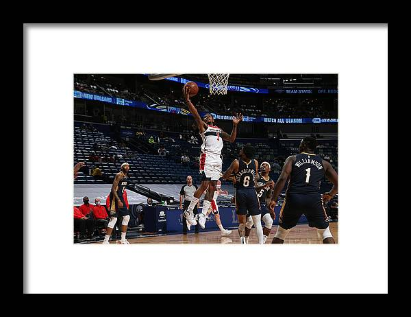 Smoothie King Center Framed Print featuring the photograph Bradley Beal by Layne Murdoch Jr.