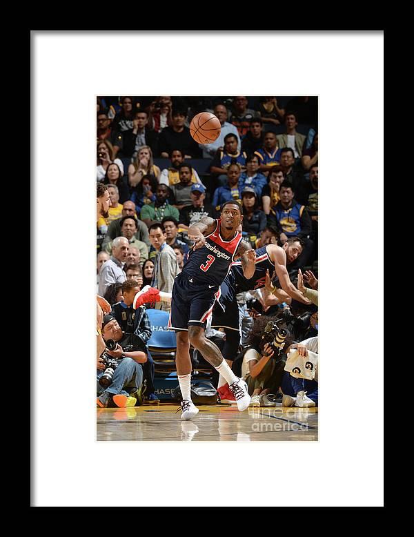 Nba Pro Basketball Framed Print featuring the photograph Bradley Beal by Noah Graham