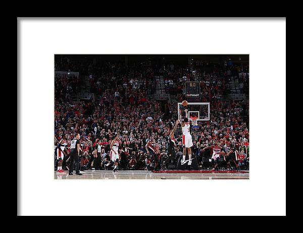 Nba Pro Basketball Framed Print featuring the photograph Bradley Beal by Sam Forencich