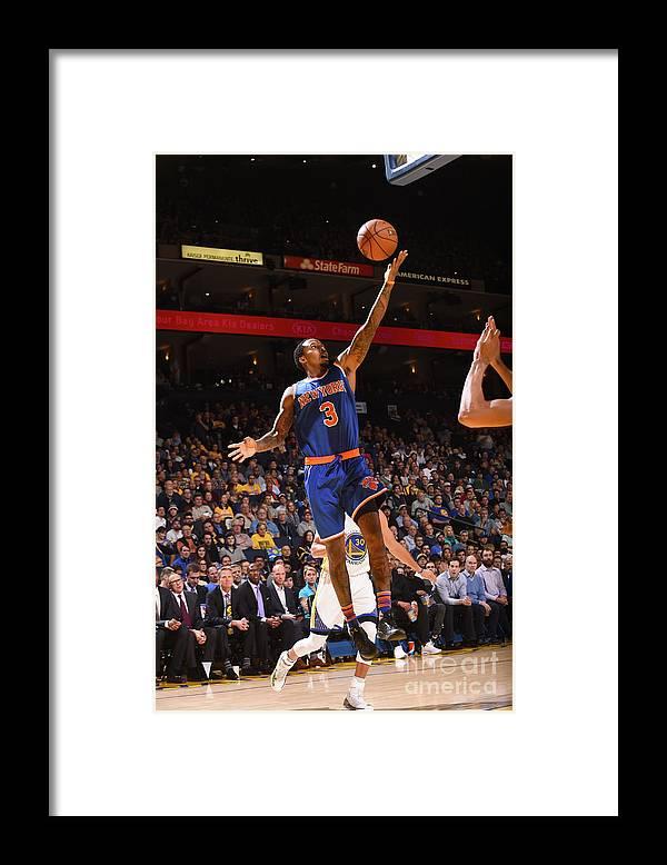 Nba Pro Basketball Framed Print featuring the photograph Brandon Jennings by Noah Graham