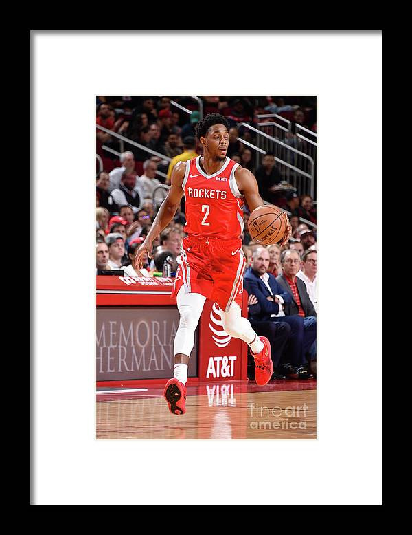 Nba Pro Basketball Framed Print featuring the photograph Brandon Knight by Bill Baptist