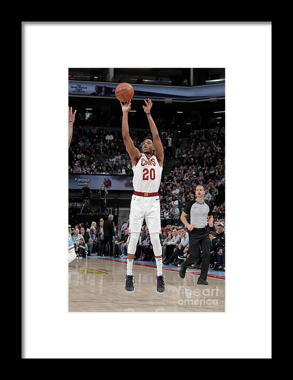 Nba Pro Basketball Framed Print featuring the photograph Brandon Knight by Rocky Widner