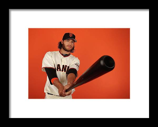 Media Day Framed Print featuring the photograph Brandon League by Christian Petersen
