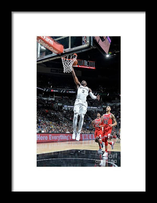 Nba Pro Basketball Framed Print featuring the photograph Brandon Paul by Mark Sobhani