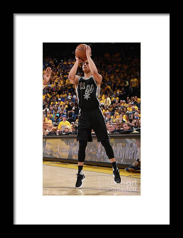 Playoffs Framed Print featuring the photograph Bryn Forbes by Andrew D. Bernstein