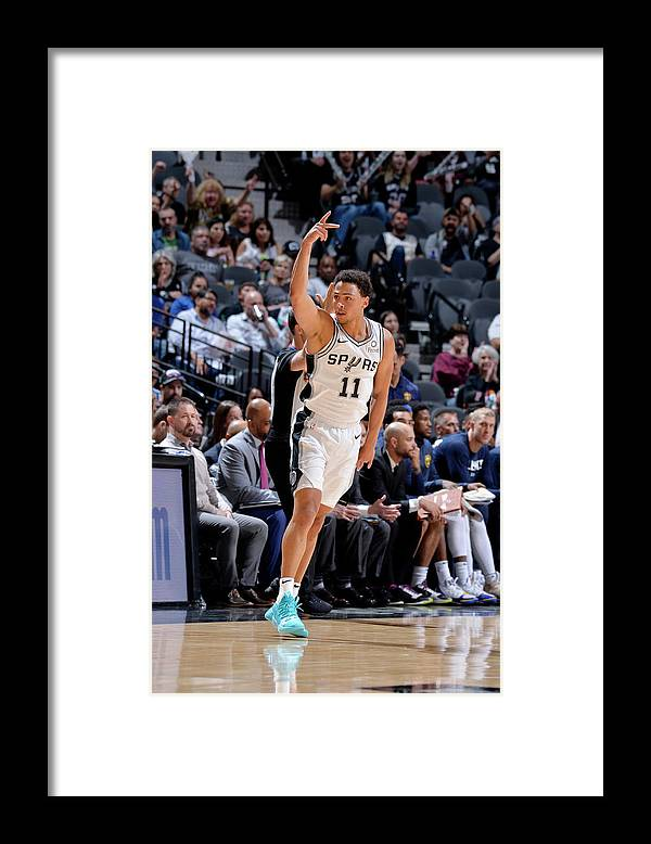 Playoffs Framed Print featuring the photograph Bryn Forbes by Mark Sobhani