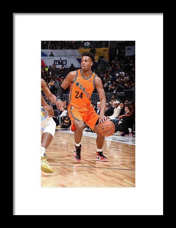 Event Framed Print featuring the photograph Buddy Hield by Andrew D. Bernstein