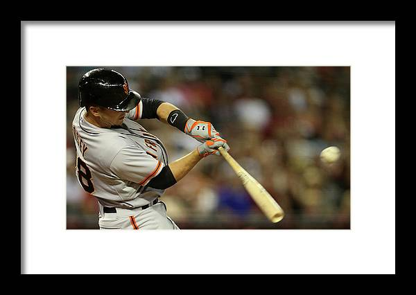 National League Baseball Framed Print featuring the photograph Buster Posey by Christian Petersen
