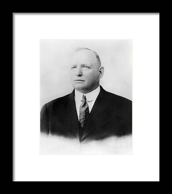 Formalwear Framed Print featuring the photograph Cap Anson by National Baseball Hall Of Fame Library