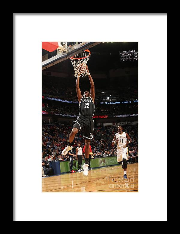Smoothie King Center Framed Print featuring the photograph Caris Levert by Layne Murdoch