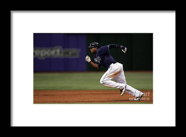 People Framed Print featuring the photograph Carl Ray by Icon Sports Wire