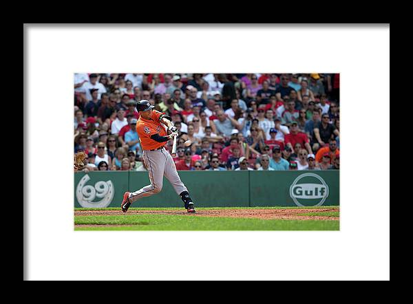 People Framed Print featuring the photograph Carlos Correa by Rich Gagnon