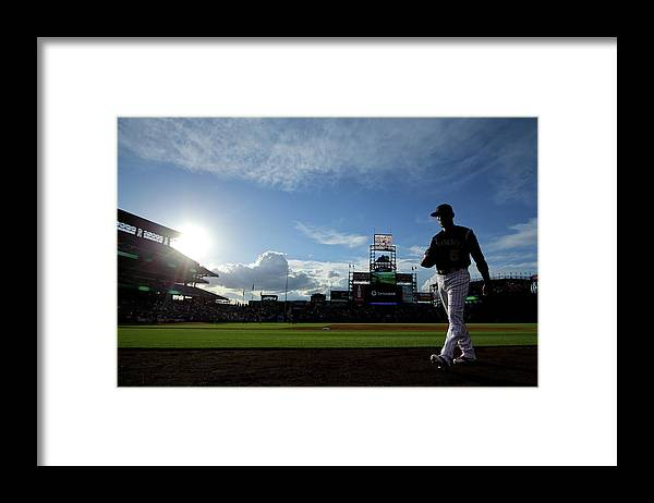 People Framed Print featuring the photograph Carlos Gonzalez by Justin Edmonds