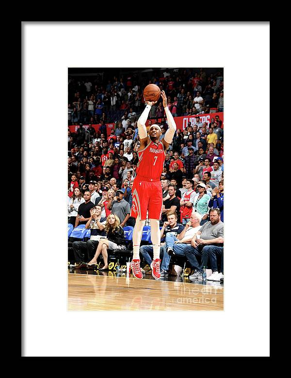 Nba Pro Basketball Framed Print featuring the photograph Carmelo Anthony by Andrew D. Bernstein