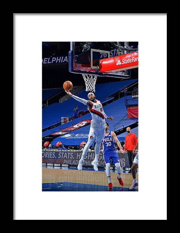 Nba Pro Basketball Framed Print featuring the photograph Carmelo Anthony by Jesse D. Garrabrant