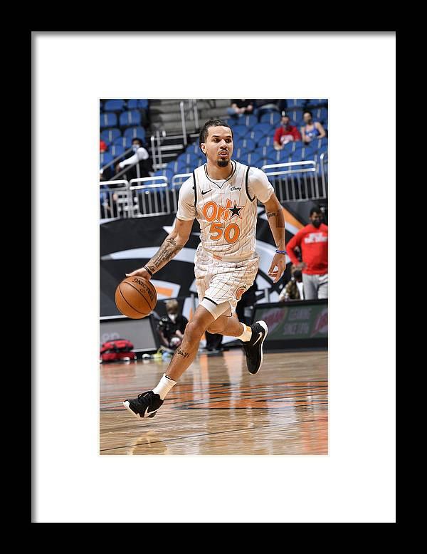 Nba Pro Basketball Framed Print featuring the photograph Chicago Bulls v Orlando Magic by Fernando Medina