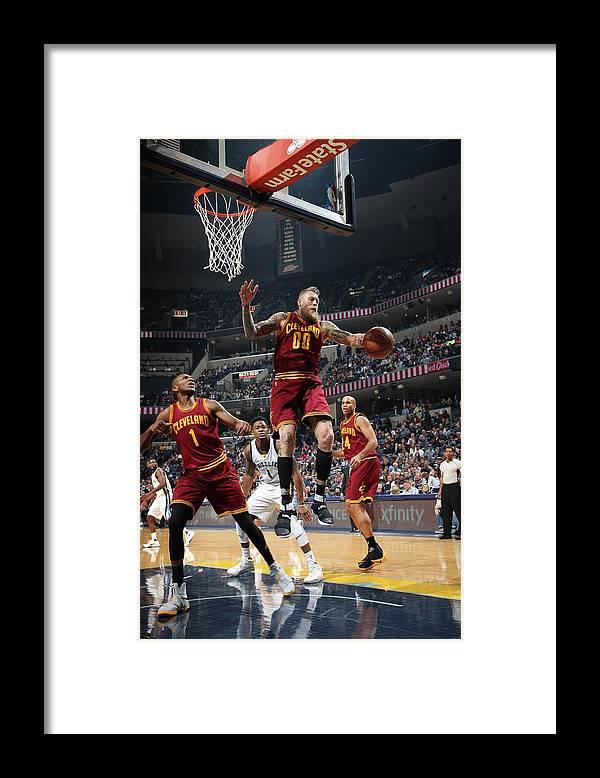 Nba Pro Basketball Framed Print featuring the photograph Chris Andersen by Joe Murphy