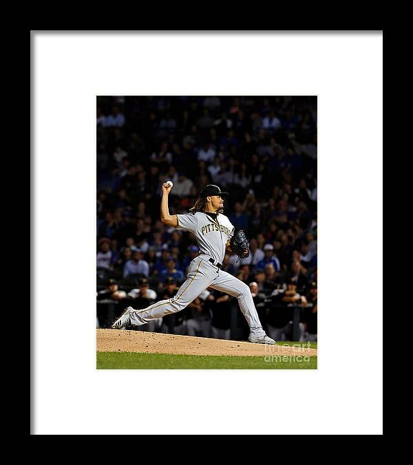 People Framed Print featuring the photograph Chris Archer by Jon Durr