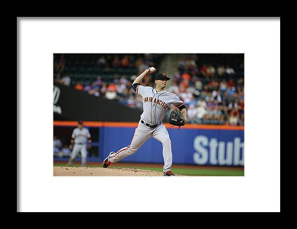 People Framed Print featuring the photograph Chris Heston by Al Bello