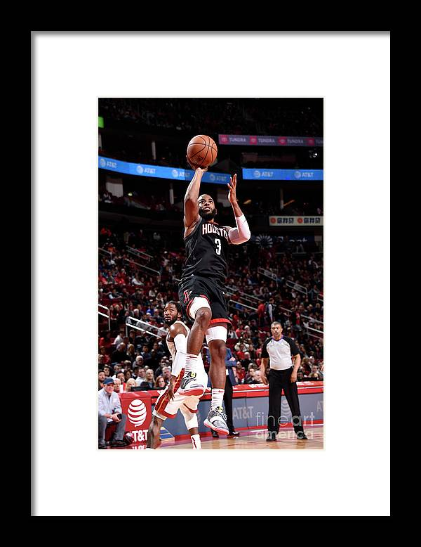 Nba Pro Basketball Framed Print featuring the photograph Chris Paul by Bill Baptist