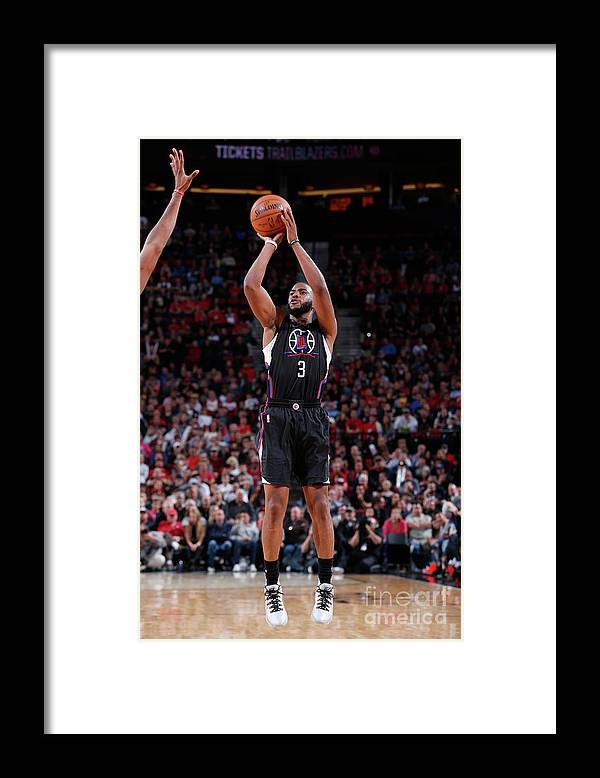 Nba Pro Basketball Framed Print featuring the photograph Chris Paul by Sam Forencich