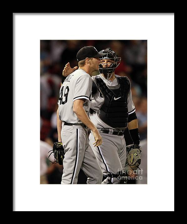 People Framed Print featuring the photograph Chris Sale by Elsa