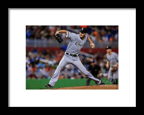 People Framed Print featuring the photograph Chris Sale by Rob Foldy