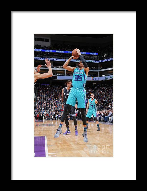 Nba Pro Basketball Framed Print featuring the photograph Christian Wood by Rocky Widner