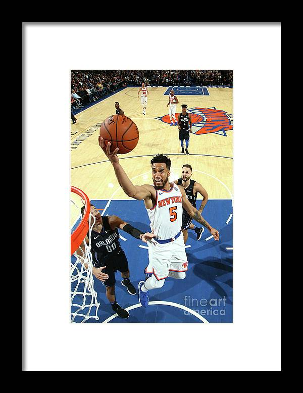 Nba Pro Basketball Framed Print featuring the photograph Courtney Lee by Nathaniel S. Butler