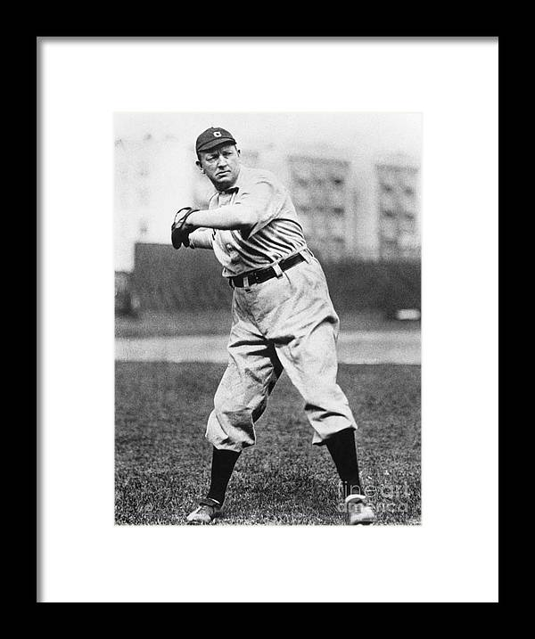 People Framed Print featuring the photograph Cy Young by National Baseball Hall Of Fame Library