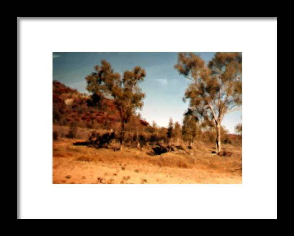 Daintree Australia Framed Print featuring the mixed media Daintree Australia by Asbjorn Lonvig