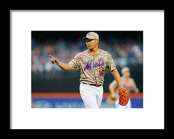 Residential District Framed Print featuring the photograph Daisuke Matsuzaka by Jim Mcisaac
