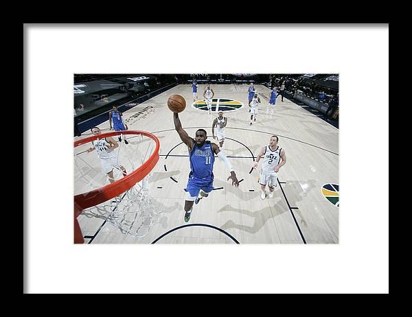 Tim Hardaway Jr. Framed Print featuring the photograph Dallas Mavericks v Utah Jazz by Melissa Majchrzak