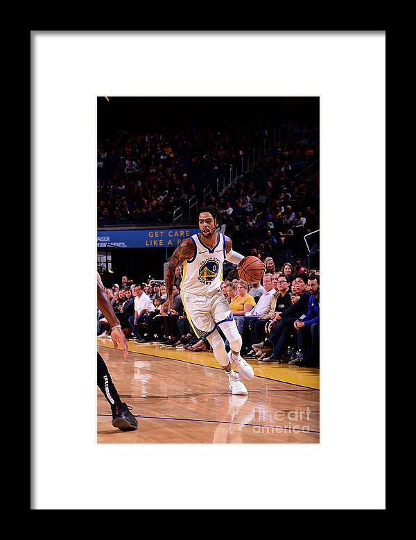 San Francisco Framed Print featuring the photograph D'angelo Russell by Noah Graham