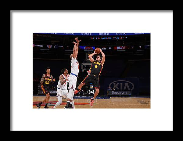 Danilo Gallinari Framed Print featuring the photograph Danilo Gallinari by Nathaniel S. Butler