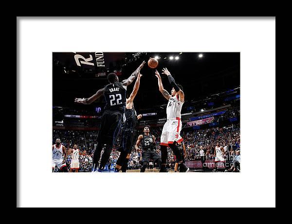 Nba Pro Basketball Framed Print featuring the photograph Danny Green by Fernando Medina