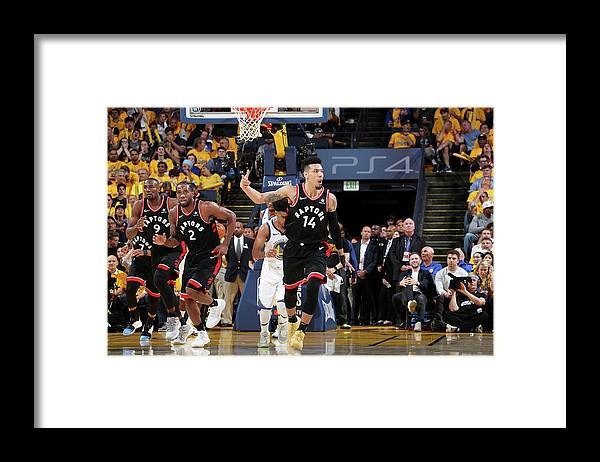 Playoffs Framed Print featuring the photograph Danny Green by Nathaniel S. Butler