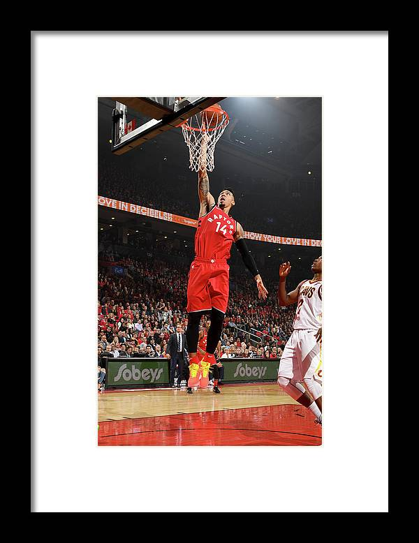 Nba Pro Basketball Framed Print featuring the photograph Danny Green by Ron Turenne